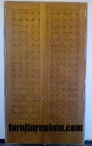 Jual Pintu Ukir Kepang