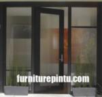 Pintu Kusen Rumah Minimalis kaca