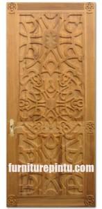Pintu Rumah Ukir Lemahan