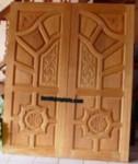 Pintu Utama Double