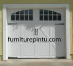 Pintu Garasi Minimalis Putih