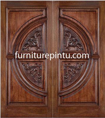 Pintu Ukir Motif Jepara