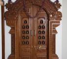 Pintu Ukir Kamar Motif Jawa
