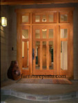 Pintu Utama Kombinasi Kaca