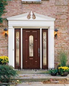 Pintu Utama Minimalis kaca