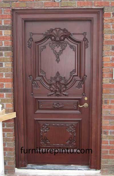 Daun Pintu Ukir Bali Mewah