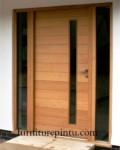 Daun Pintu Minimalis 2016 Model Salur