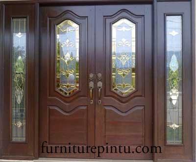 Pintu Kupu Tarung Classik Minimalis Murah
