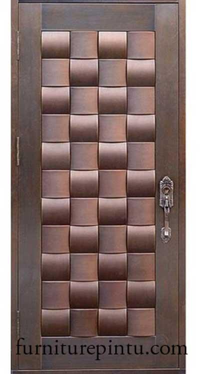 Pintu Minimalis Singel Ukir Sulam