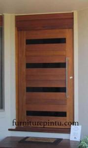 Pintu Ram Minimalis Kaca