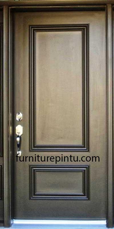 Daun Pintu Minimalis Classic Gold