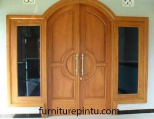 Pintu Masjid Minimalis Lengkung